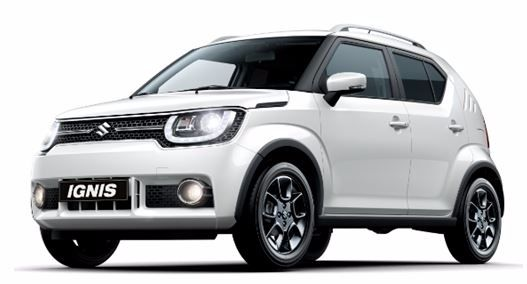 New Suzuki Ignis ... available from January 2017