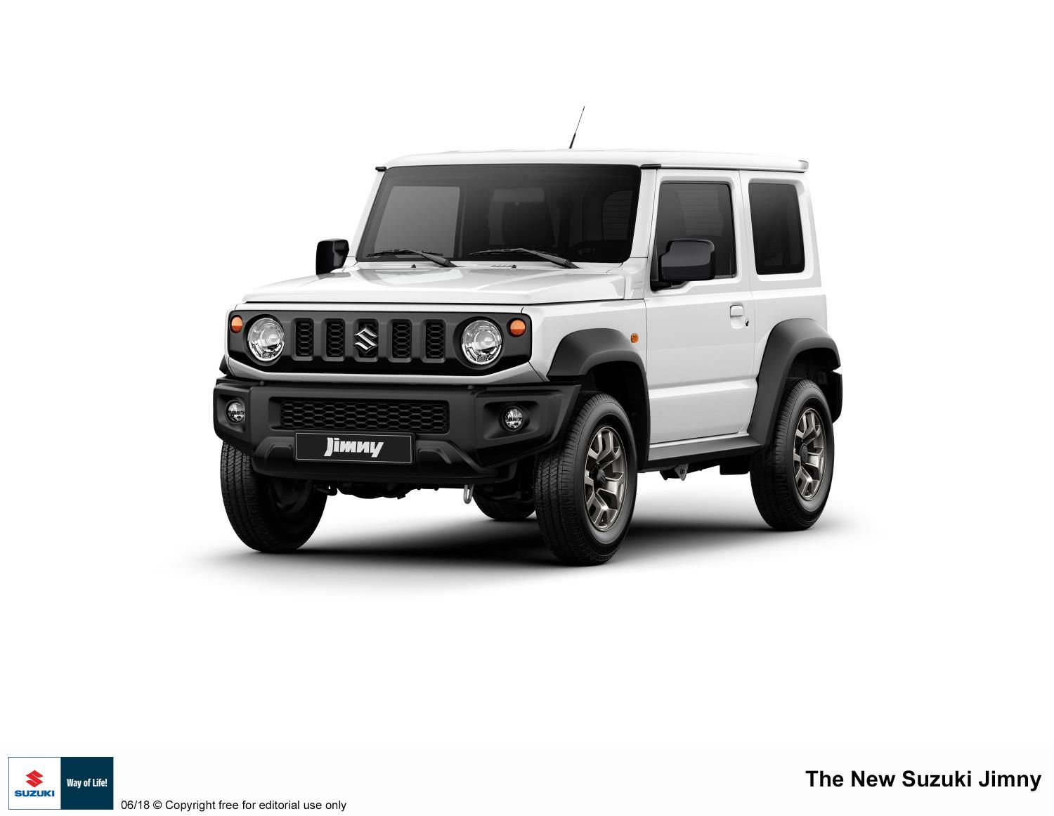 All-new Jimny – masterpiece of Suzuki's 4WD technology