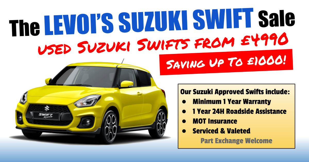 The January Suzuki Swift Sale, Used Swifts From £4,990
