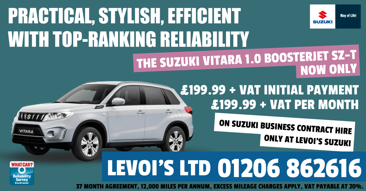 Drive Your Business Forward With The Vitara On Business Contract Hire