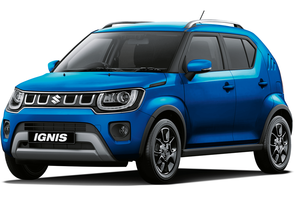Suzuki Ignis - Speedy Blue Metallic