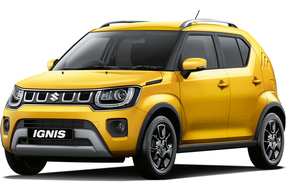 Suzuki Ignis - Rush Yellow Metallic